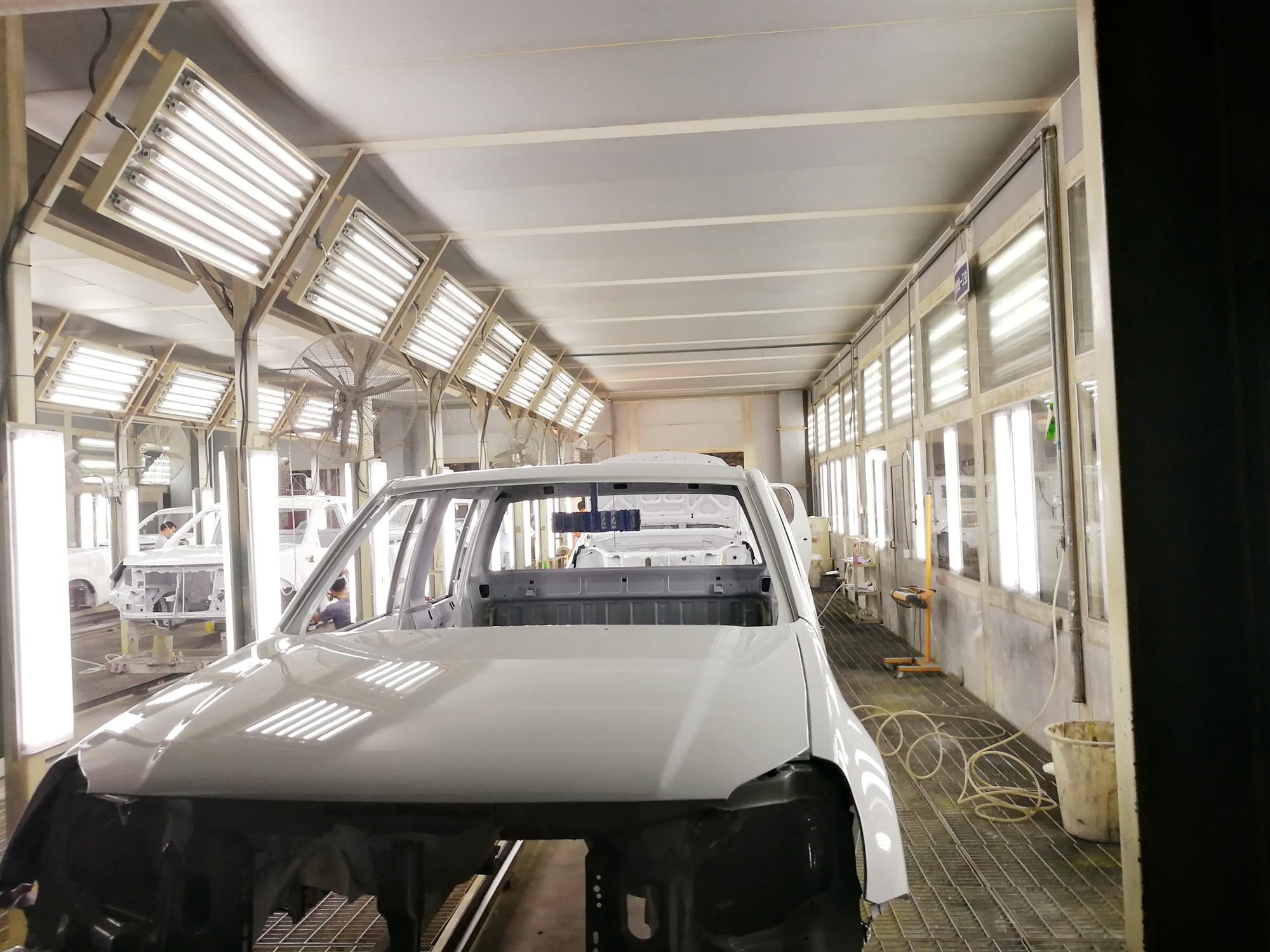 青海汽车涂装生产线