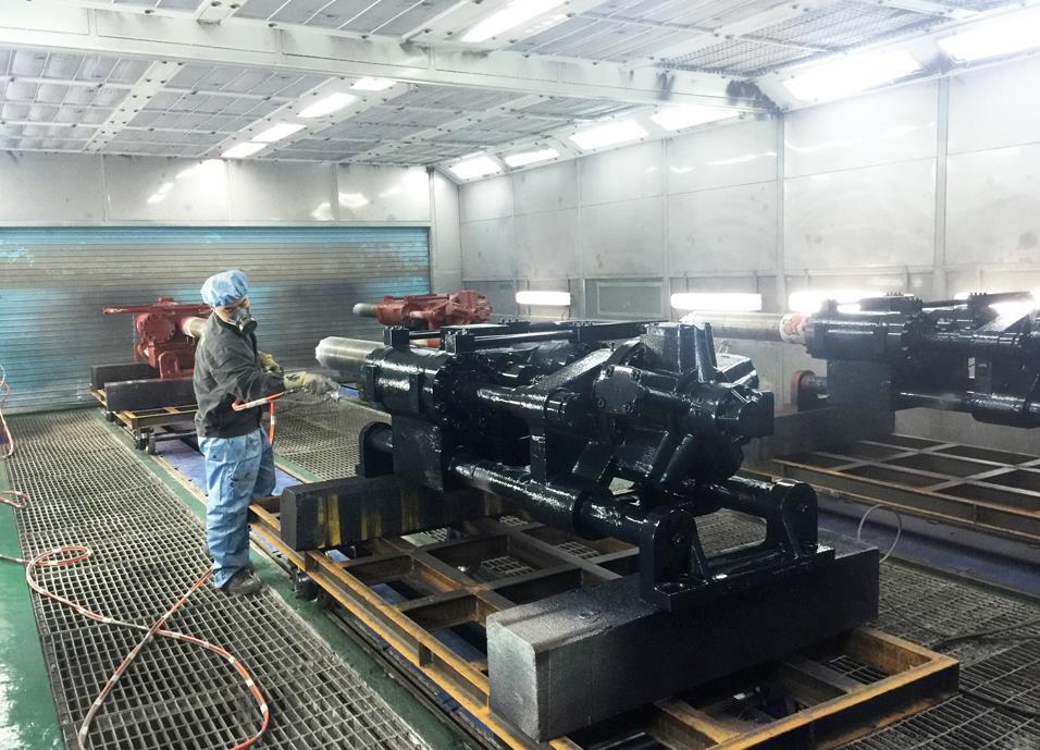 青海机械喷漆设备